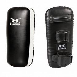 Hammer Boxing Thai Pad Stootkussen Zwart Wit 40x19x11cm