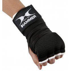 Hammer Boxing binnenhandschoenen Elastic Fit - zwart