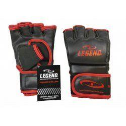 Bokszak/MMA handschoenen Legend Flow zwart/rood - Maat: L