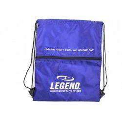 Handige sporttas met vakje Blauw - Default